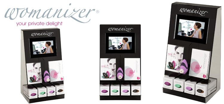 Display Womanizer W500 Pro