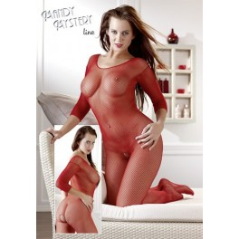 Catsuit red S-L