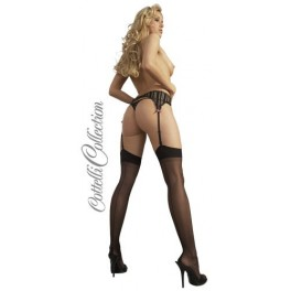 Seamed Stockings black 2