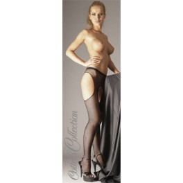 Black Fishnet open Tights L/XL
