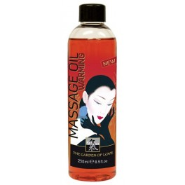 Shiatsu Massage Oil warming