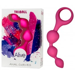 Dildo anal Triball rose